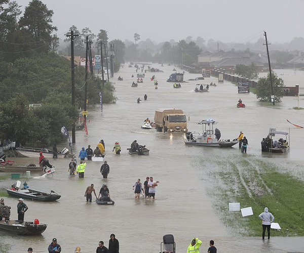 Hurricane Harvey Clean Up